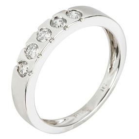 Ring 950 Platin Brillant