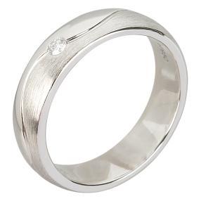 Ring 950 Platin Brillant