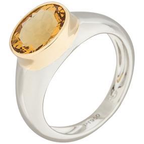 Ring 950 Platin Aquamarin
