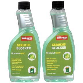 WOHNEN & GENIESSEN Geruchsblocker 2 x 500 ml Limet