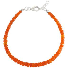 Armband Äthiopischer Opal orange