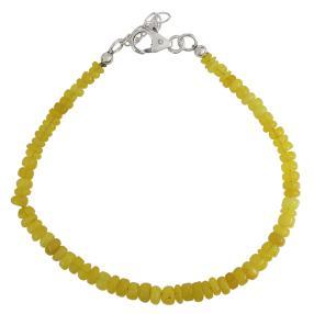 Armband Äthiopischer Opal gelb