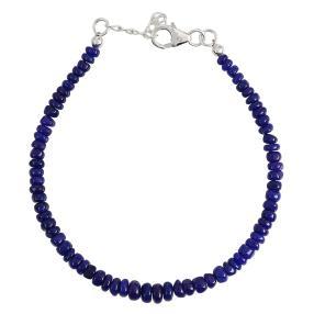 Armband Äthiopischer Opal royalblau