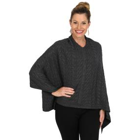 IL PAVONE Poncho Made in Italy