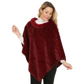 Webpelzponcho Made in Italy