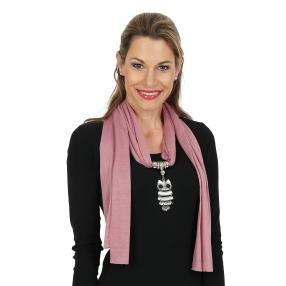 Lilli B. Schmuckschal rosa