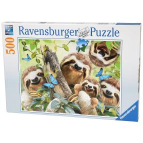 Ravensburger Puzzle 'Faultier Selfie'