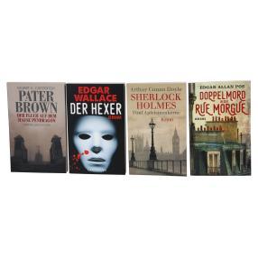Paket Krimi- Klassiker 4 Bücher