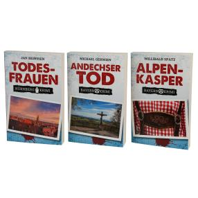 Paket Krimi - Bayern / 3 Bücher