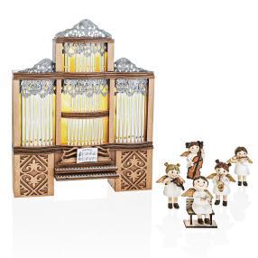 LED-Orgel mit Spieluhr