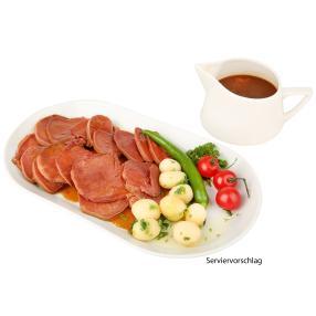 Rinderzunge in Madeirasoße