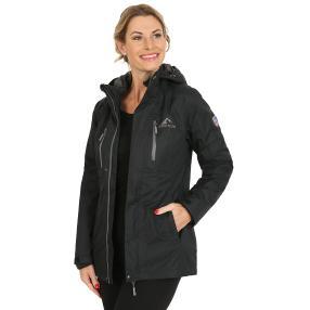 WESTFJORD Damen wasserfeste 3in1 Jacke schwarz