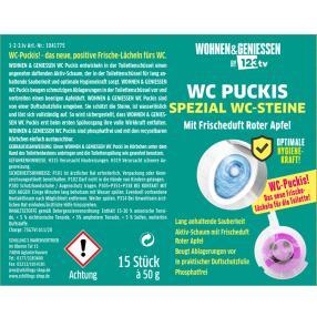 WOHNEN & GENIESSEN WC Steine Spezial lila