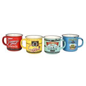 "Kaffeebecher ""Nostalgie"" 4er-Set"