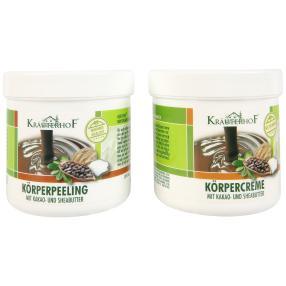 KRÄUTERHOF Kakao- und Sheabutter, 2er Set