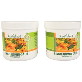 KRÄUTERHOF Ringelblumen-Salbe, 2er Pack