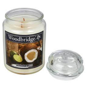 Woodbridge Duftkerze Coconut & Lime 565g