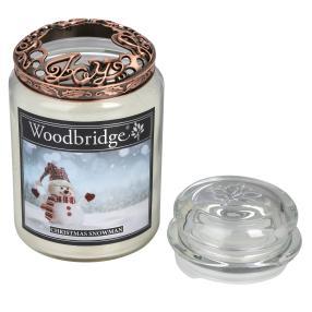 Woodbridge Duftkerze Xmas Snowman 565g, 2-teilig