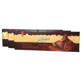3x Munz Swiss Premium Edelbitter & Cacao 300g