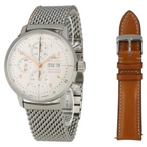 """Iron Annie Herrenchronometer """"Bauhaus"""" Ledermap"