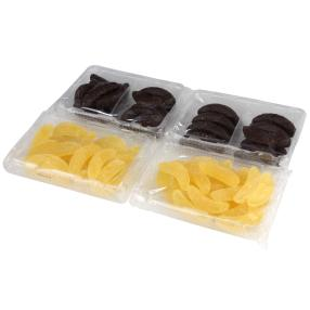 Gelee-Bananen 1000g gezuckert/schokoliert
