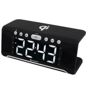 Uhrenradio mit QI Ladestation