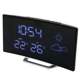 Uhrenradio mit Funkuhr, Wetterstation und Sensor