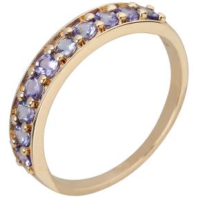 Ring 375 Gelbgold, AATansanit