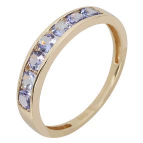 Ring 585 Gelbgold Tansanit