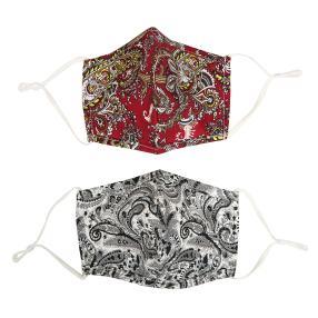 Fashion Maske paisley 2er Set