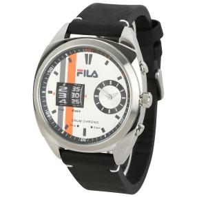 "FILA Herrenuhr ""Drum Roller"" Quarz orange"