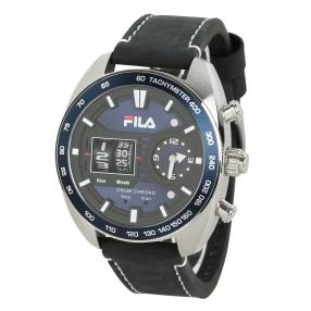 "FILA Herrenuhr ""Drum Roller"" Quarz blau"