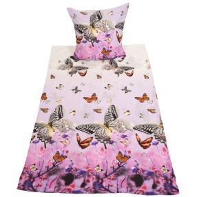 WinterDreams Bettwäsche 2-teilig Schmetterlinge