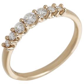 Ring 585 Gelbgold Brillanten