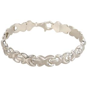 Armband 925 Sterling Silber, ca. 20 cm