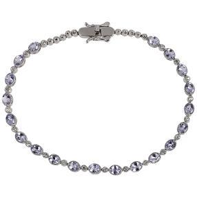 Armband 925 Sterling Silber Tansanit