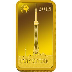 Goldbarren Toronto