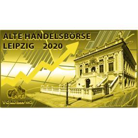 Goldbarrenmünze Leipziger Handelsbörse
