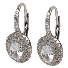 Ohrhänger 925 Sterling Silber rhodiniert