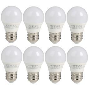 8er Set LED-Leuchtmittel E27