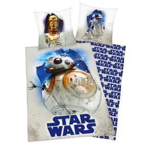Bettwäsche 'Star Wars' 2-teilig, blau-weiß