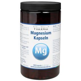 ViaBia Magnesium Kapseln 1000 Stck.