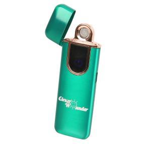 Clever Wounder USB-Feuerzeug, grün