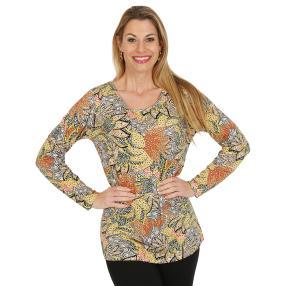 IMAGINI Damen-Shirt multicolor