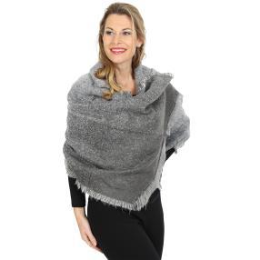 Damenschal XL, grau