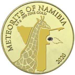 Cosmic Gold Namibia + Meteorit