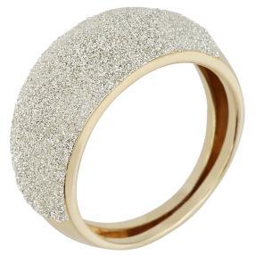 Bandring 585 Gelbgold Diamantenstaub