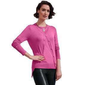 ashley brooke Damen Twinset pink