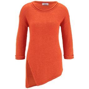 linea TESINI Damen Strickpullover orange