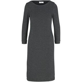 PATRIZIA DINI Damen Metallic-Kleid schwarz